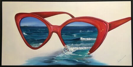 Beach Colored Glasses 2