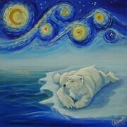 Chillin' on a Starry Night